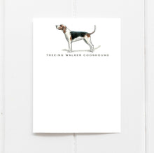 coonhound note cards