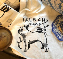 French Roast Tea Towel