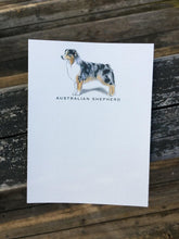 Australian Shepherd Note Card