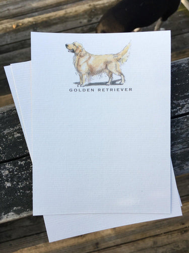 Buy elegant Golden Retriever Notecards for $11.00 by Rachel Canada Artist