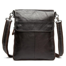 Men's Genuine Cowhide Leather Shoulder Bag LS170