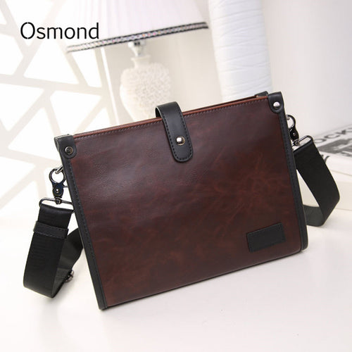 Osmond Men's Leather Crossbody Messenger Bag