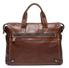 CHISPAULO Genuine Leather Men's Briefcase