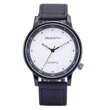 Luxury Fashion Men's Leisure Retro Leather Sport Quartz Wrist Watch