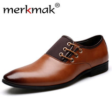 Men's Split Leather Business Oxfords