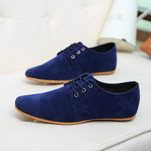Men's Casual Suede Leather Flat Shoe