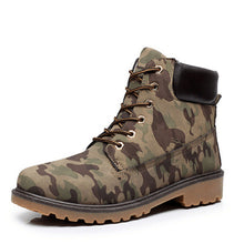 Men's Shoe - High Top British Style PU Leather Breathable Casual Autumn Winter Shoe