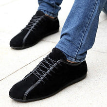 Men's Nubuck Leather Suede Casual Shoes
