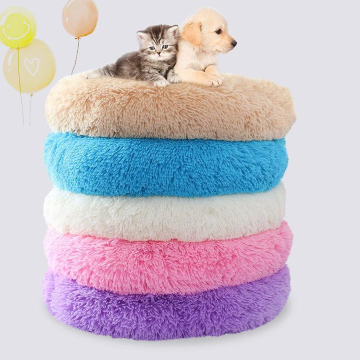 Premium Super Comfortable Machine Washable Furry Pet Bed