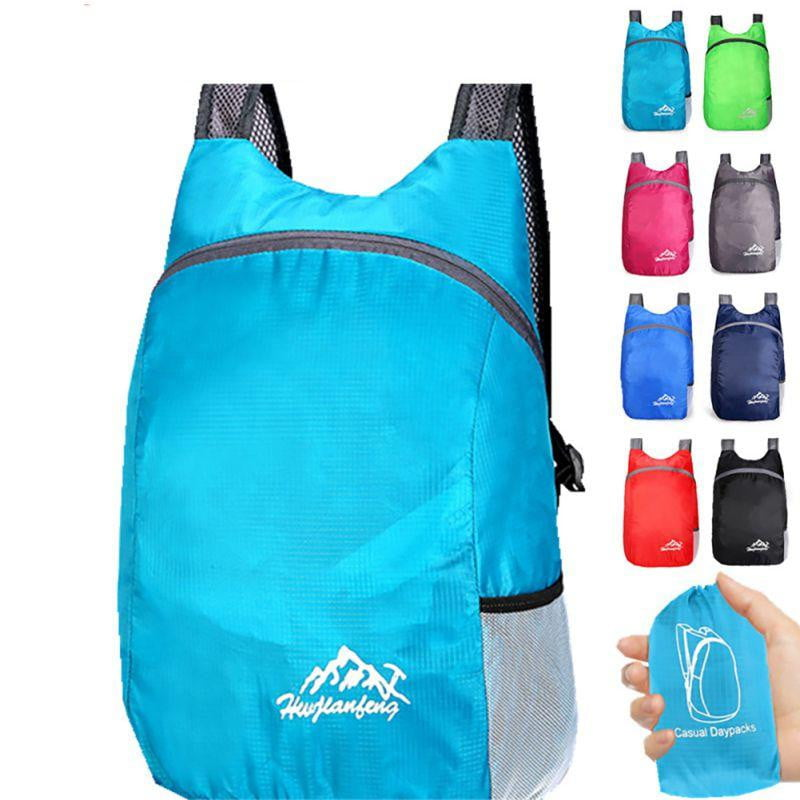 Waterproof Foldable Backpack For Outdoor and Travel