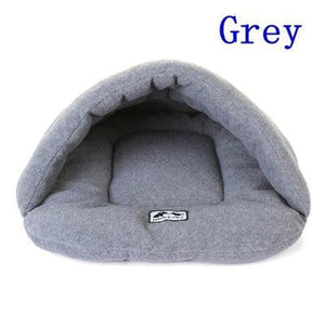 Grey Color Heated Pet Bed for Dogs Cats and Small Animals