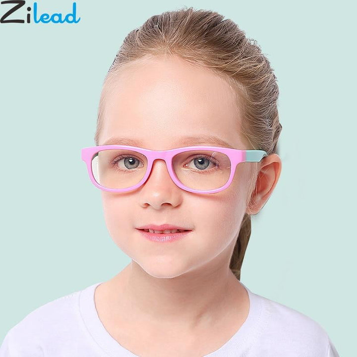 BluBlocker - Bendable Gaming Blue Light Blocking Glasses for Children