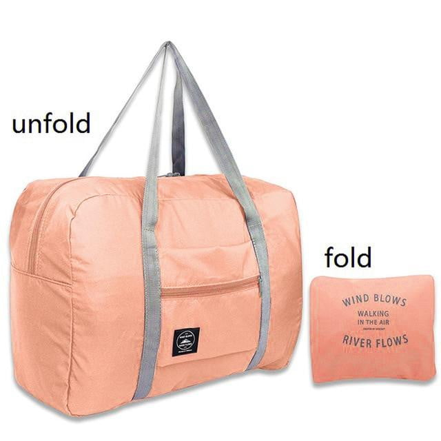Ultra Spacious Foldable Waterproof Travel Duffle Bag