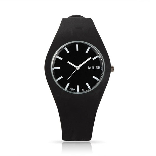 Silicone Band Sport Watch