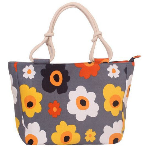 Big Flowers Large Capacity Handbag