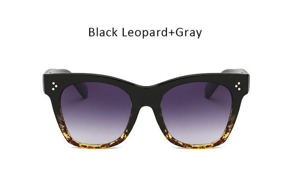 Rivet Cat Eye Sunglasses