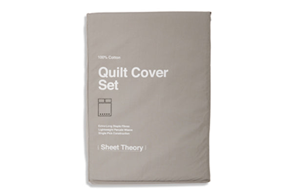Cinderblock Quilt Cover Set