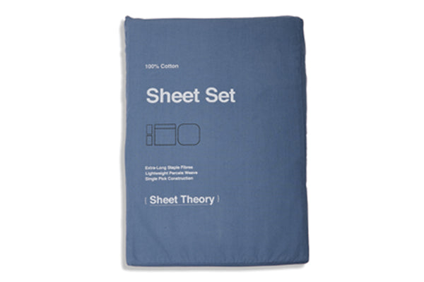 Denim Blue Sheet Set