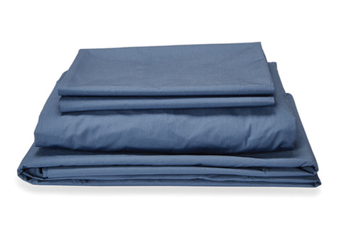 Denim Blue Quilt Cover Set