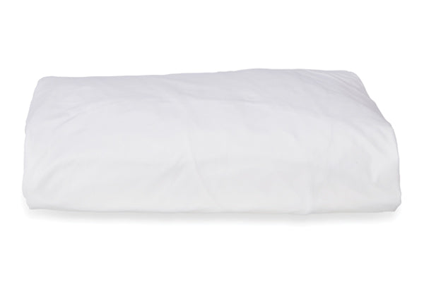 Straight Up White Fitted Sheet
