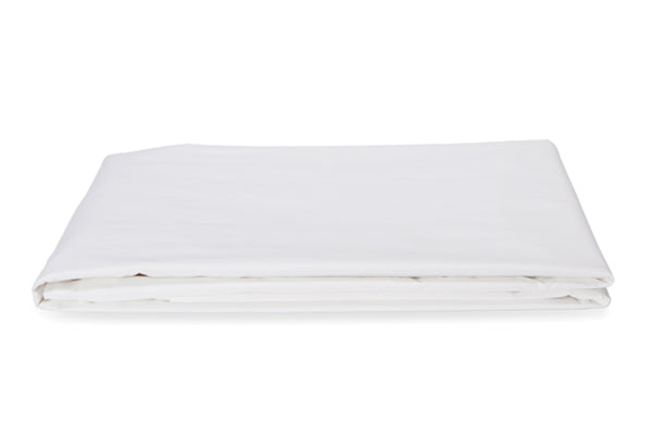 Straight Up White Flat Sheet