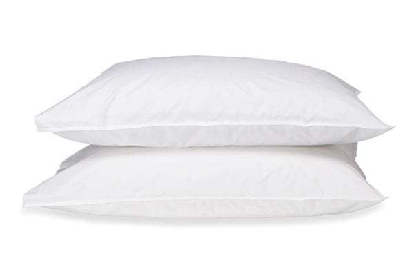 Straight Up White Pillowcases