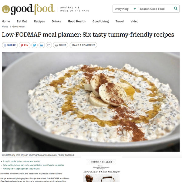 low fodmap, fodmap health, ibs, good food