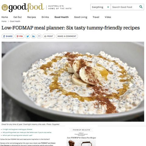 fodmap health, low fodmap, goodfood, gluten free, wheat free, fodmaphealth, low fodmap diet, monash university