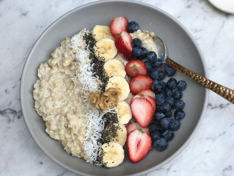low fodmap, fodmap, ibs, fodmaphealth, fodmap health, muesli, healthy breakfast, wheat free, gluten free