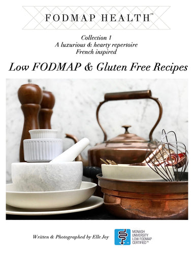 FODMAP Health Recipe eBook - Collection 1