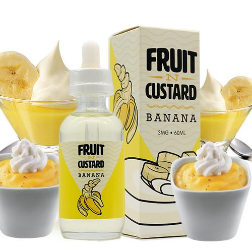 Banana - Fruit -N- Custard E Liquid