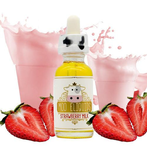 Strawberry Milk - Moo E Liquid