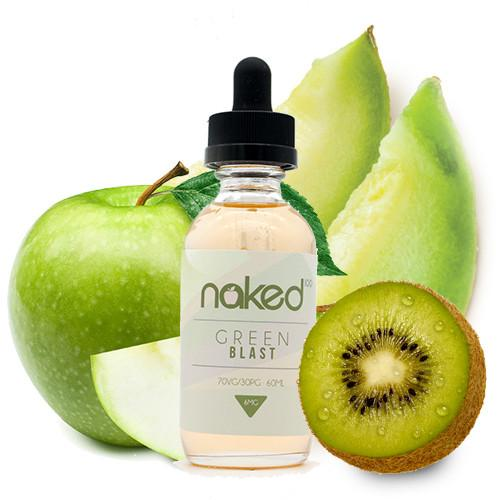 Green Blast E Juice - Naked 100