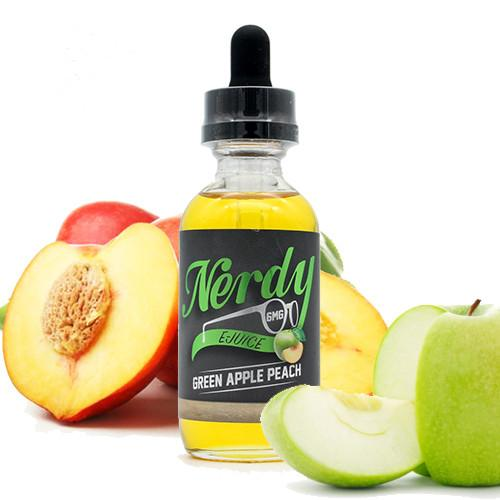 Green Apple Peach - Nerdy E Juice