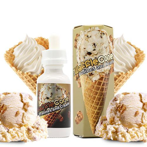 Pralines and Cream - The Waffle Cone E Juice