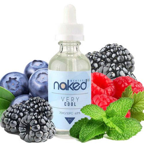 Very Cool E Juice - Naked 100 Menthol