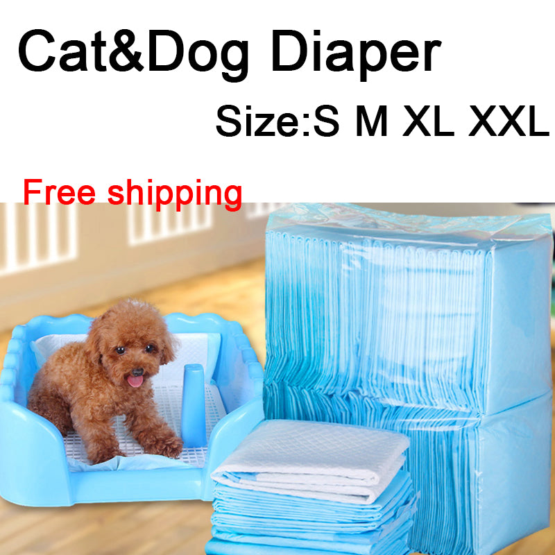 Dog Pee Pad House Toilet Training Housebreaking Pet Supplies Underpads New Absorbent Diaper Clean Mat For Dog&Cat Free Shipping