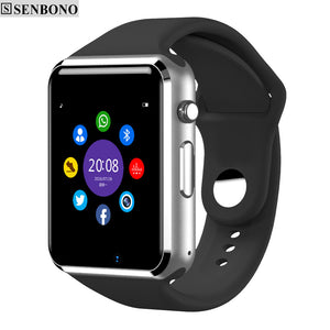 WristWatch Bluetooth Smart Watch Sport Pedometer With SIM Camera Smartwatch For  Android Smartphone  Russia T50