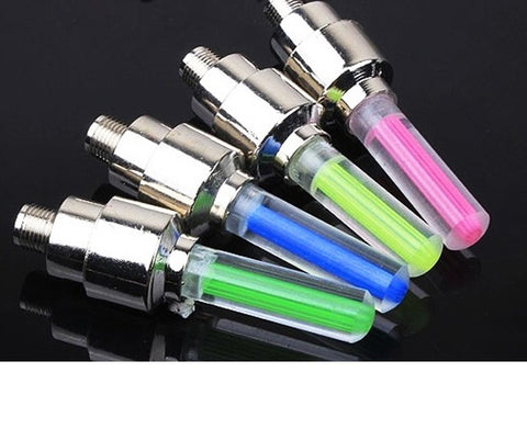 Image of New Led Bicycle Lights 4pcs/set Wheel Tire Valve's