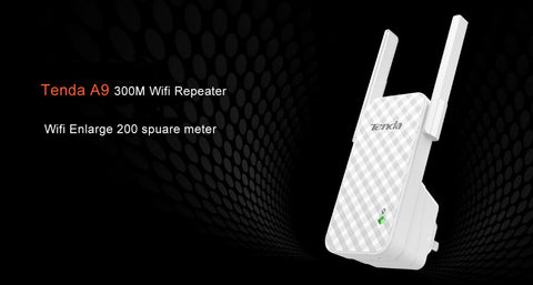 Image of 300Mbps Wireless WiFi Repeater, Router Range Extender Enlarge 200 m2