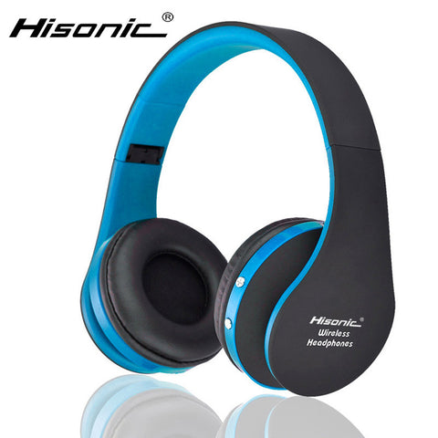 Image of Hisonic Bluetooth Headset Wireless Headphones Stereo Foldable Sport Earphone Microphone headset bluetooth earphone SUN8252