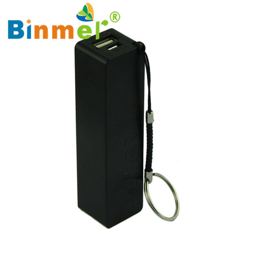 Power Bank Charger Battery 18650 External Backup Battery Charger With Key Chain
