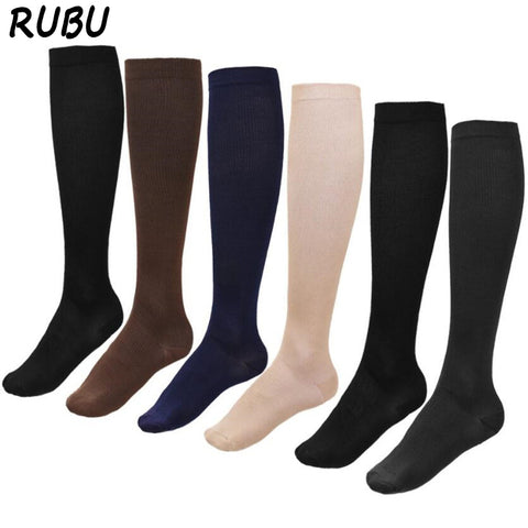 Image of Medias Anti fatiga Unisex Compression Socks  Sports Medical Care Comfortable Travel