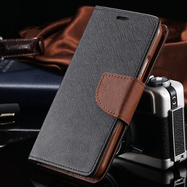 KISSCASE Flip Leather Case For Samsung Galaxy S5 i9600 Fashion Stand Wallet Pouch Style Cover Phone Cases For Samsung S5 Coque