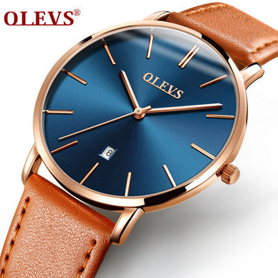 Image of OLEVS 2017 Men Wrist Watch Quartz Calendar Watches Top Brand Luxury Famous Wristwatch Leather watchbands Male Clock  Hodinky