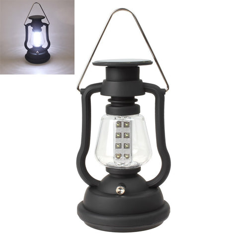 High Quality Super Bright Outdoor 16 LED Light Solar Panel Hand Crank Dynamo Lamp Camping Lantern