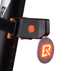 ROCKBROS Waterproof Bicycle Light USB Rechargeable LED Bike Taillights Cycling Bicycle Warning Light Lamp Clip Bike Accessories