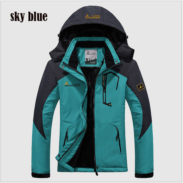 Winter Jacket Men thick Windproof Hood parka mens jackets and coats Windbreaker Outdoorsport Coat Jaqueta masculina