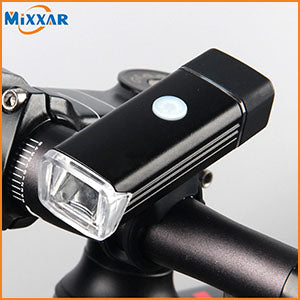 LED Bicycle Light MTB  Front Rear Light ABS Head Tail Taillight Warning Lights Flashlight