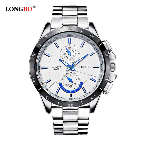 Image of Waterproof Quartz Watch Luxury Wristwatches Mens Watches 8833